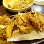かんちゃん - 料理写真:旬菜のかき揚げ