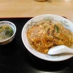 64528869 - 「中華風カツ丼」全景