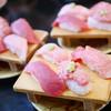 すし華亭 - 料理写真:本まぐろ4点盛¥945