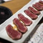 肉匠堀越 - カメノコのヅケ