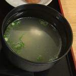 鶏三和 JR京都伊勢丹 - 味噌汁