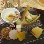 桜亭台町茶寮 - 前菜