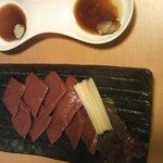 焼肉JAPAN - ハツ刺し550円