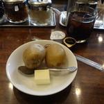ボンディ - ジャガイモ、アイスコーヒー