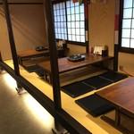 亀山 - 小上がり席