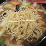 福萬年 - 麺の細さ