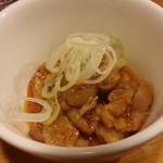 とりビアー - セット500円の小鉢
