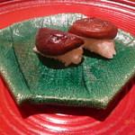 いと正 - 椎茸の寿司