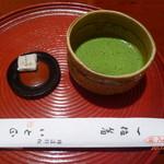 いと正 - 抹茶と和菓子