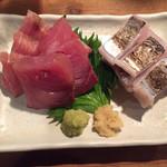 Kitchen和 - 鮪と太刀魚のお造り