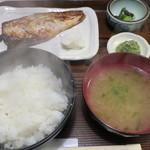 さわら - とろさば西京焼き定食