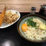 うどん村 - 釜玉バター