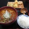うどん ごくう - 料理写真:匠カレーうどん+ご飯