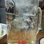 番番 - 酎ハイ250円の梅