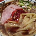 すごい煮干ラーメン凪 - 煮干ラーメン820円 無料の大盛、醤油の3辛で