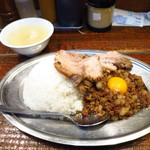 立川マシマシ - マシライス350g+豚増し