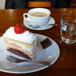 パティスリー クグラパン - 料理写真:ケーキセット