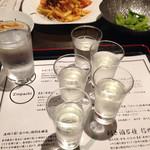 寝ずの甚八 - 信州利き酒五種