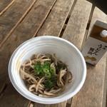 橋本製麺所 - 2杯目は蕎麦を・・・