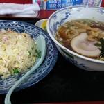中華料理 海道 - ラーメン&チャーハン 750円