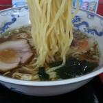中華料理 海道 - モチモチの中麺