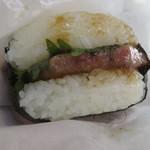 えんむすびや - 島根和牛サーロインステーキのおむすび
