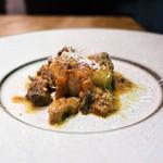 ジロトンド - 「カリエッタ」茹でたじゃが芋と蝦夷鹿もも肉のラグー