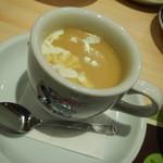 コメダ珈琲店 - コーンスープ