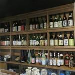 日本酒cafe & 蕎麦 誘酒庵 - 日本酒のラインナップ