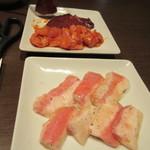 ワンカルビ Plus+ - にんにく塩 豚トロ