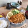 竹松 - 料理写真:清川恵水ポークの重ねカツ
