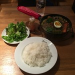 64547161 - ベジカレーポトフ鶏ミンチ(ライス大)、1,070円