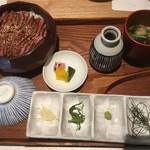 飛騨牛料理 田中 - 飛騨牛ひつまぶし 霜降り2900円