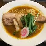 まろ亭 - カリー麺750円(税込)