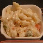 ラ・カーム - 洋風ハンバーグ定食(トマトソース)(789円)~マカロニサラダ