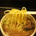 らーめん 伊東 - 麺 in つけ汁