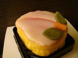 白水堂 - 桃カステラ