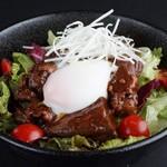 森商店 - 牛たん角煮丼