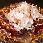 わらい食堂 - お好み焼き豚玉