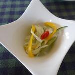 Satoyamakafetasaburousansou - 和サラダはお酢でサッパリ
