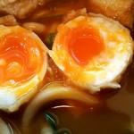 64561178 - 完璧な半熟具合の卵天