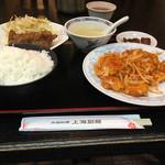 中国料理 上海厨房 - エビチリ定食