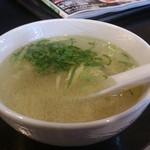 64563878 - ・おかわりしたスープ