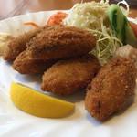 キッチンHabataki - カキフライ ¥1000 3月末までのメニューです