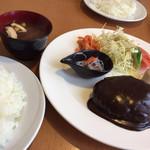 キッチンHabataki - ランチセット ¥1140 画像はライス大盛り(+¥50)