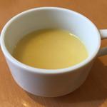 キッチンHabataki - セットのコーンスープ