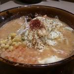 味噌乃家 - ・炙りチーズ味噌ラーメン 780円