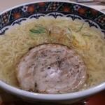 味噌乃家 - ・ゆず塩ラーメン 680円 + 大盛 100円