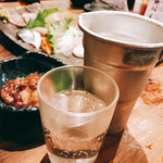 地魚屋台とっつぁん - 日本酒が合うね