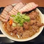 丹行味素 - 2017年2月 焼豚 豚盛り超濃厚醤油麺 990円